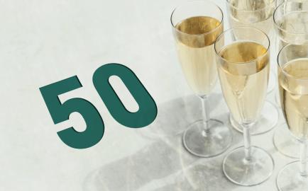 Celebramos nuestro 50 aniversario
